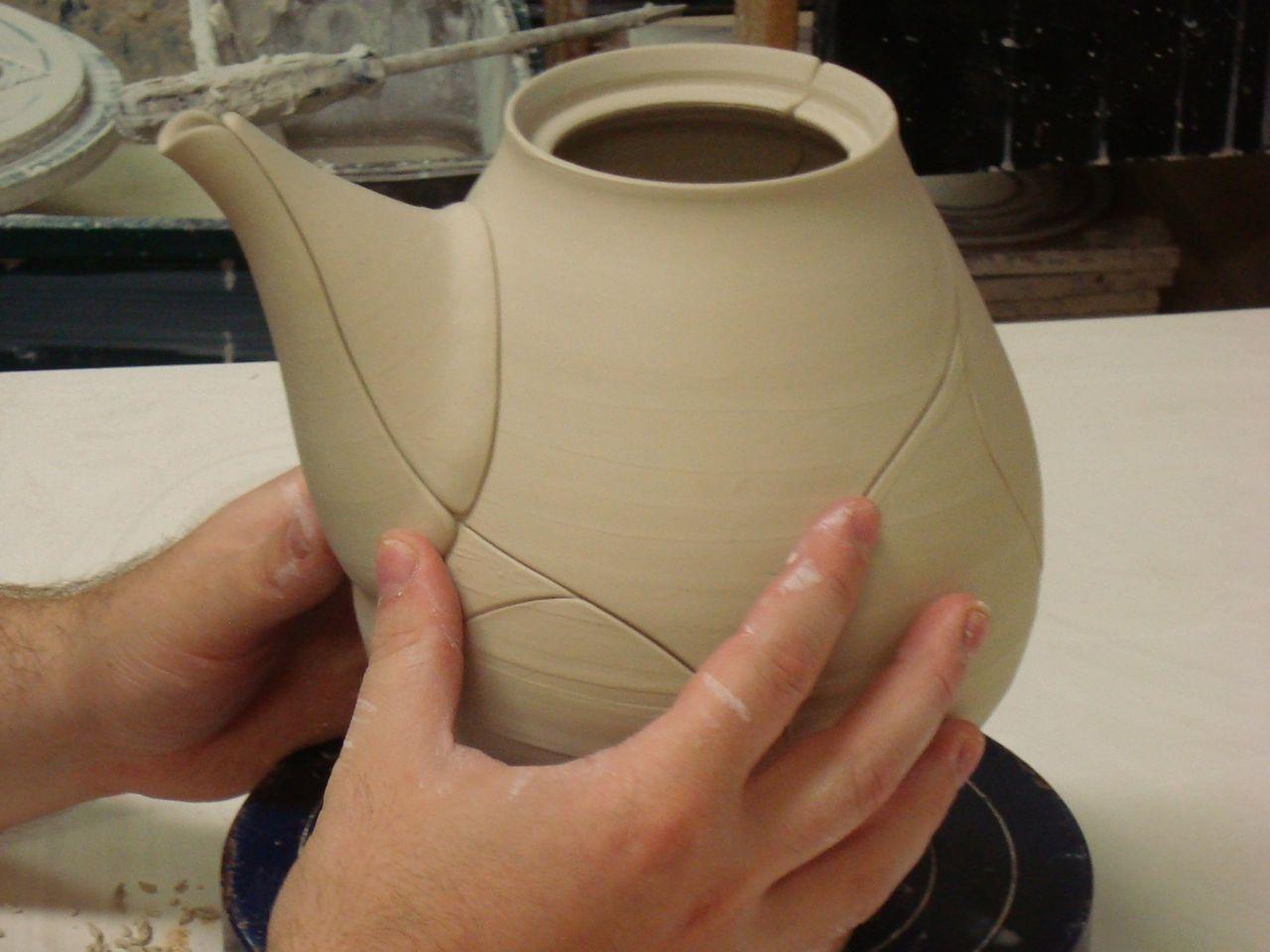 how to make a teapot spout